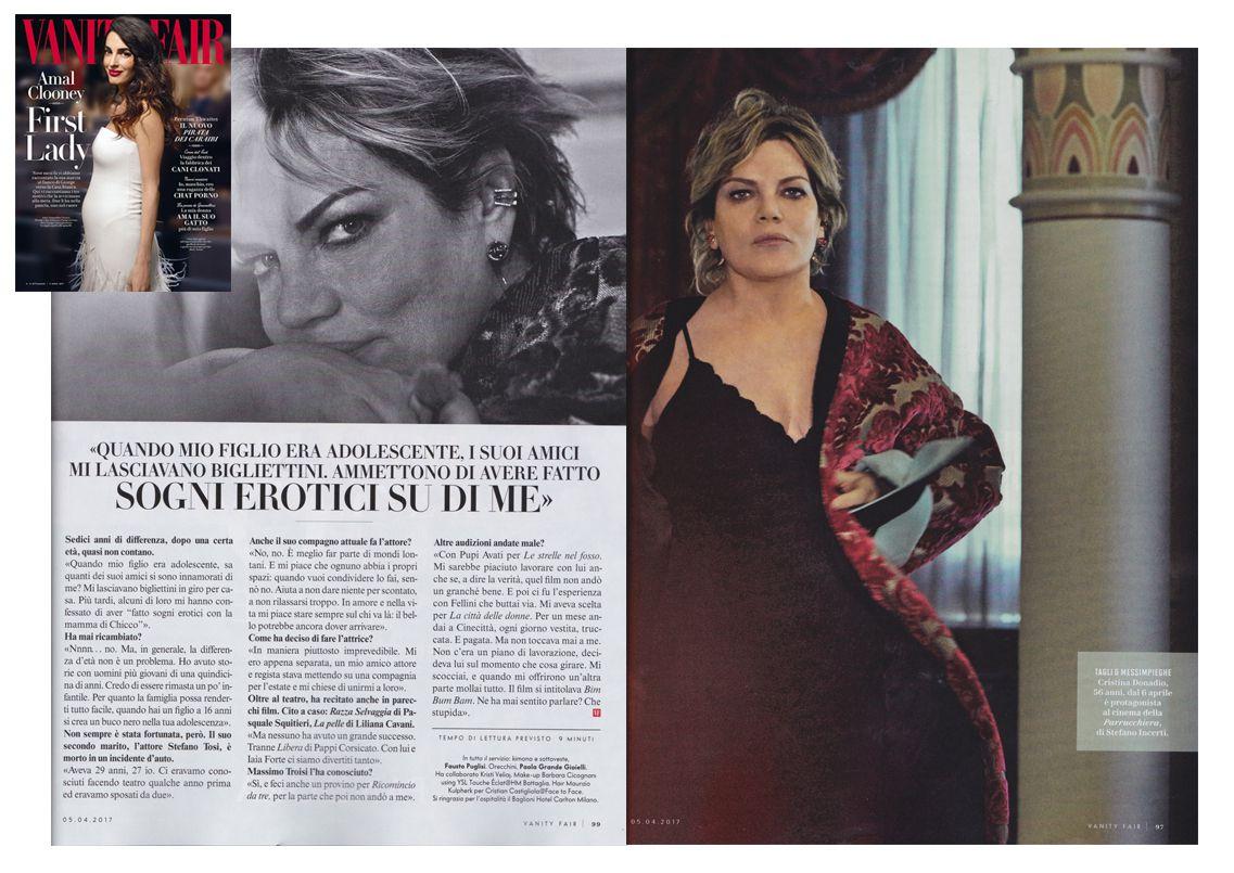 Vanity Fair Cristina Donadio starring
