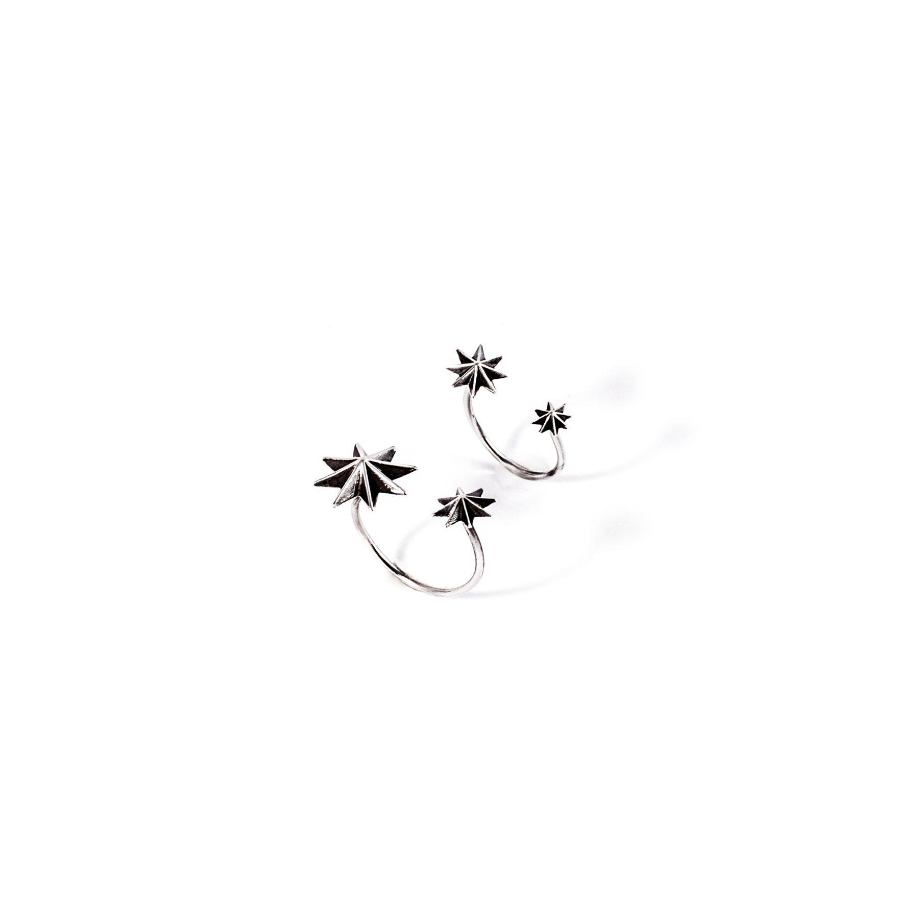 Anello 'Stella' medio Anello in argento