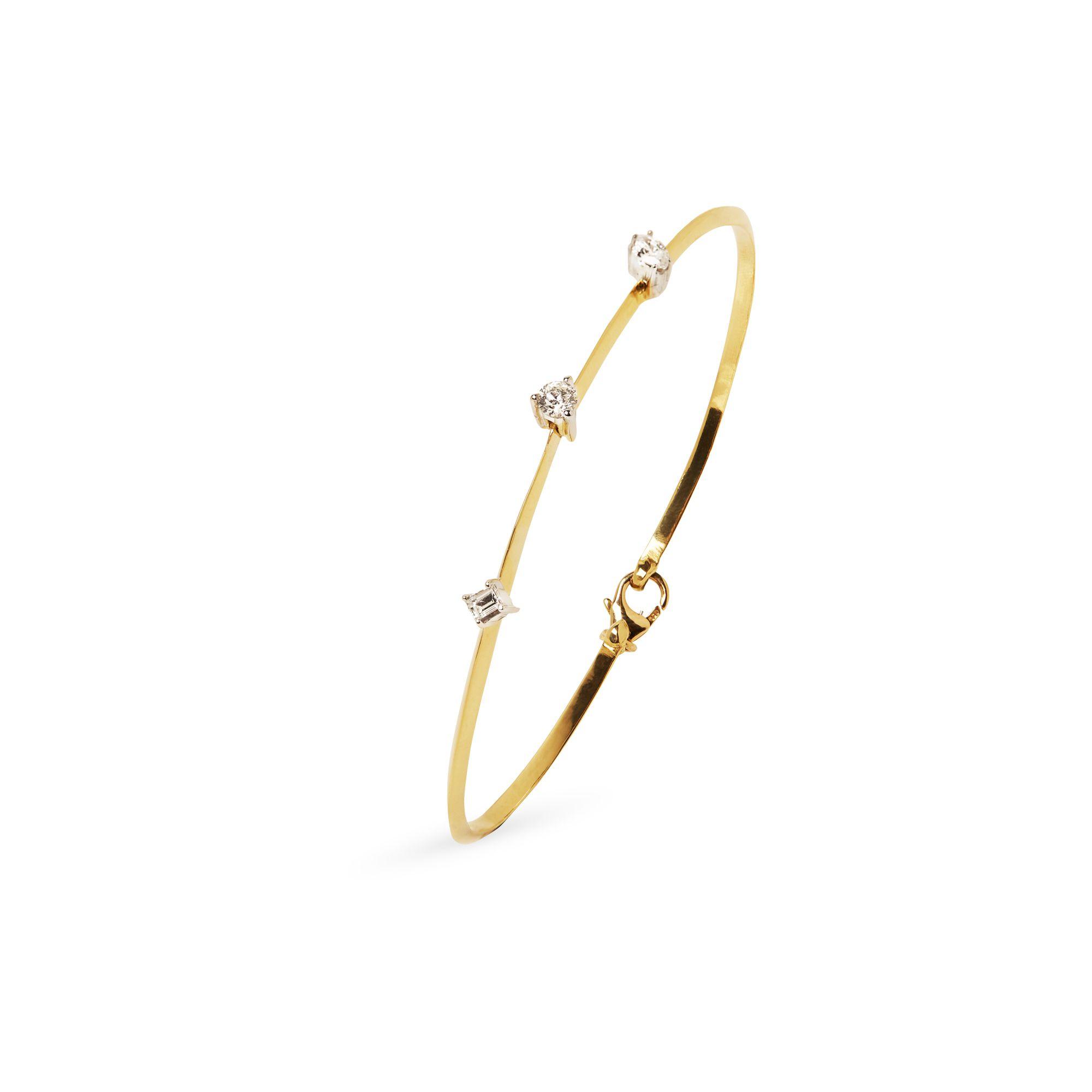 Bracciale 'Balance' Bracciale in oro giallo e diamanti