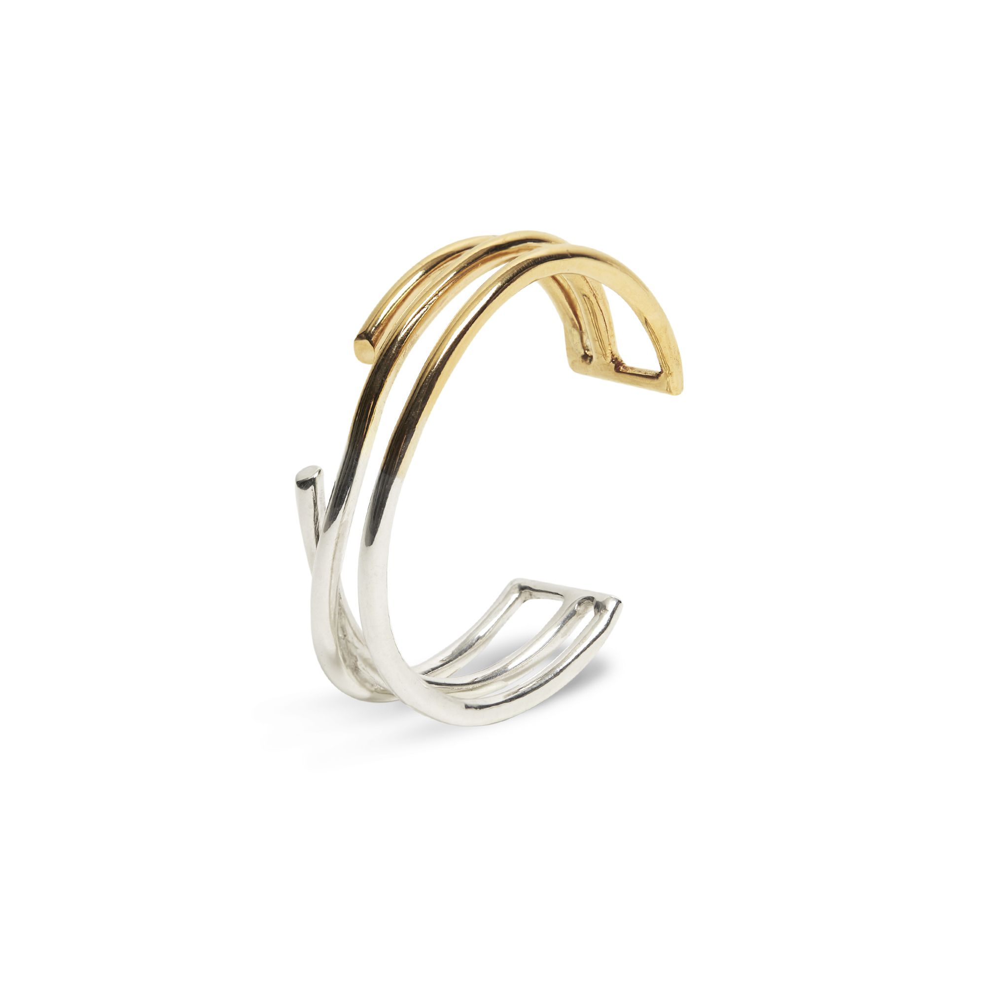3 element 'Neon' bracelet Bracelet in silver and bronze