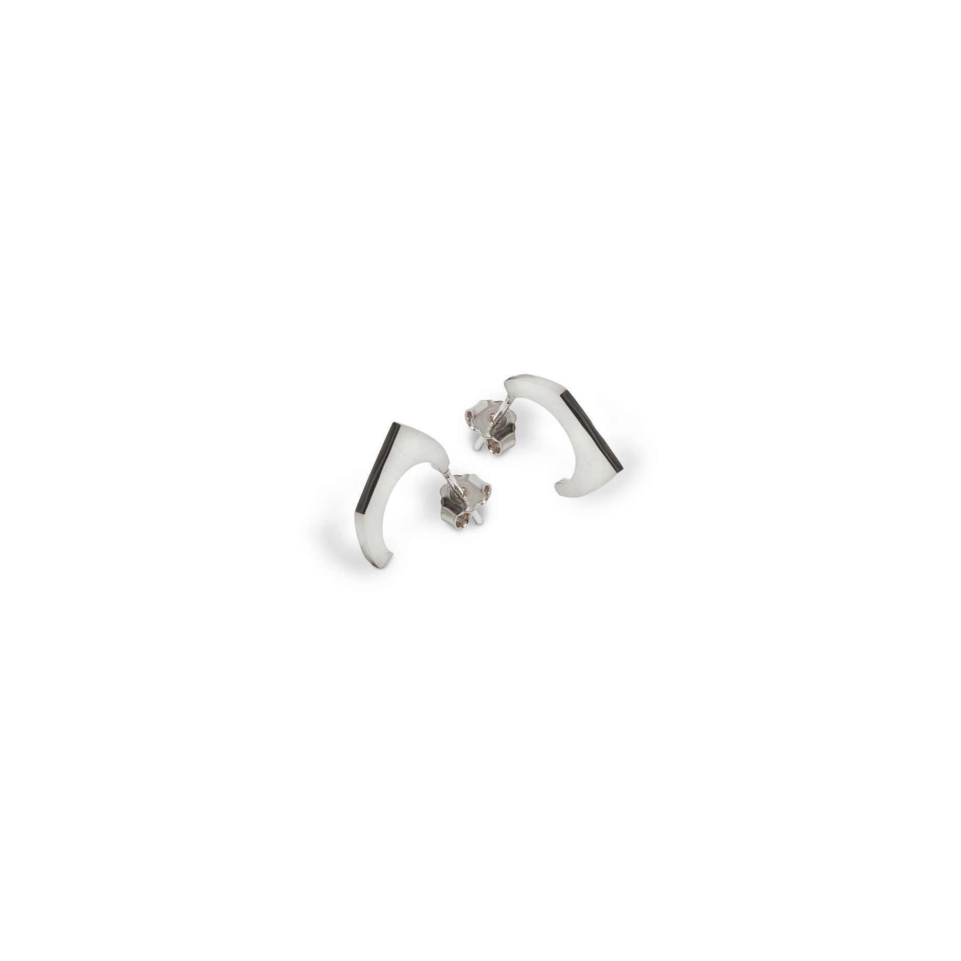 1 element 'Congiunzioni' earrings Silver earrings
