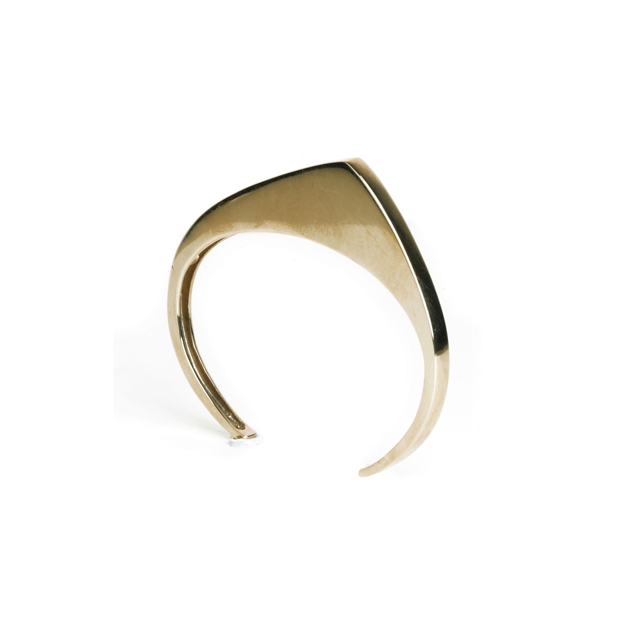 'Congiunzioni' 1 element bracelet Bronze bracelet