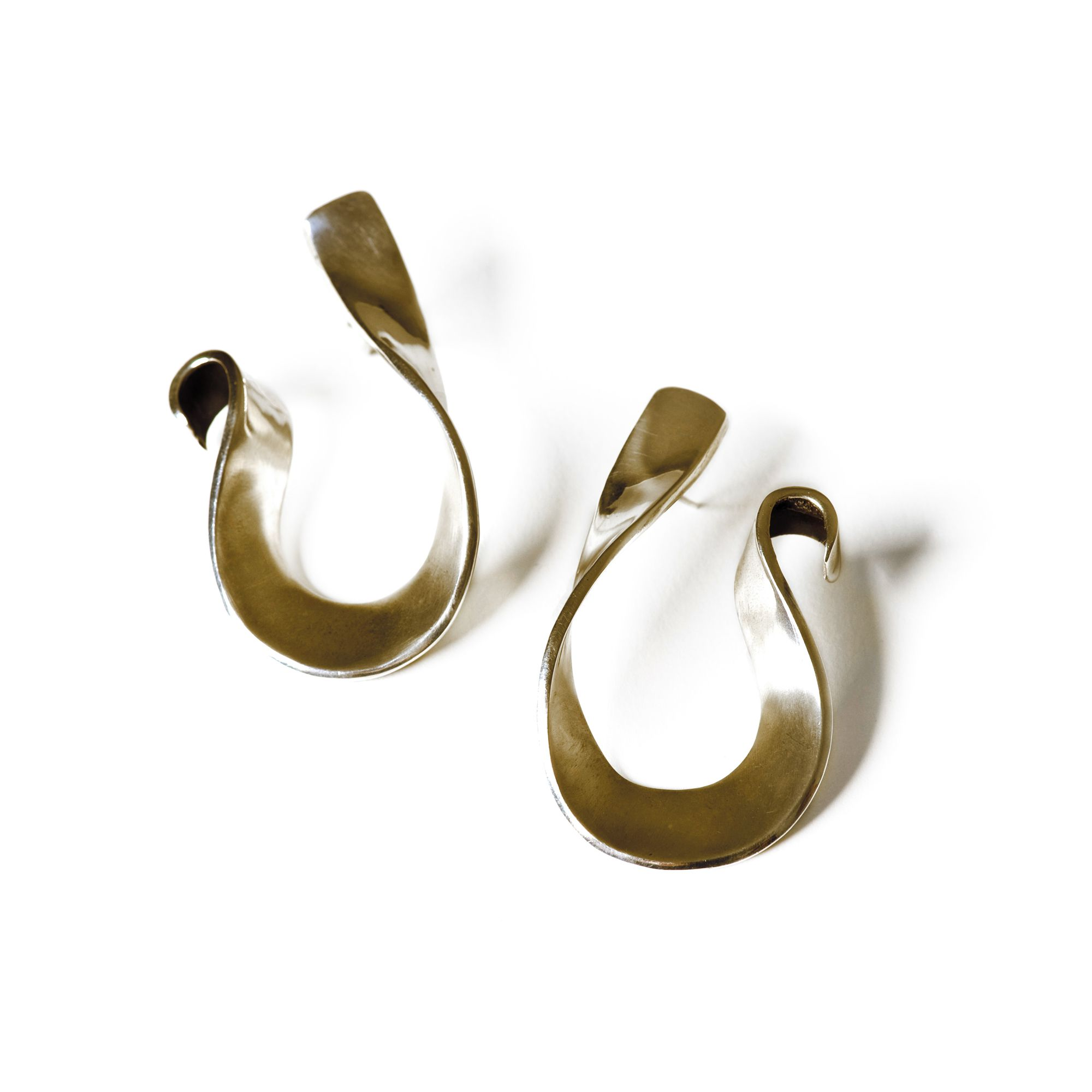 'Nastri' earrings Earrings in bronze