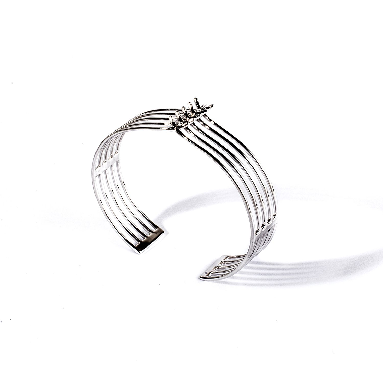 5 element 'Spinae' bracelet White gold bracelet