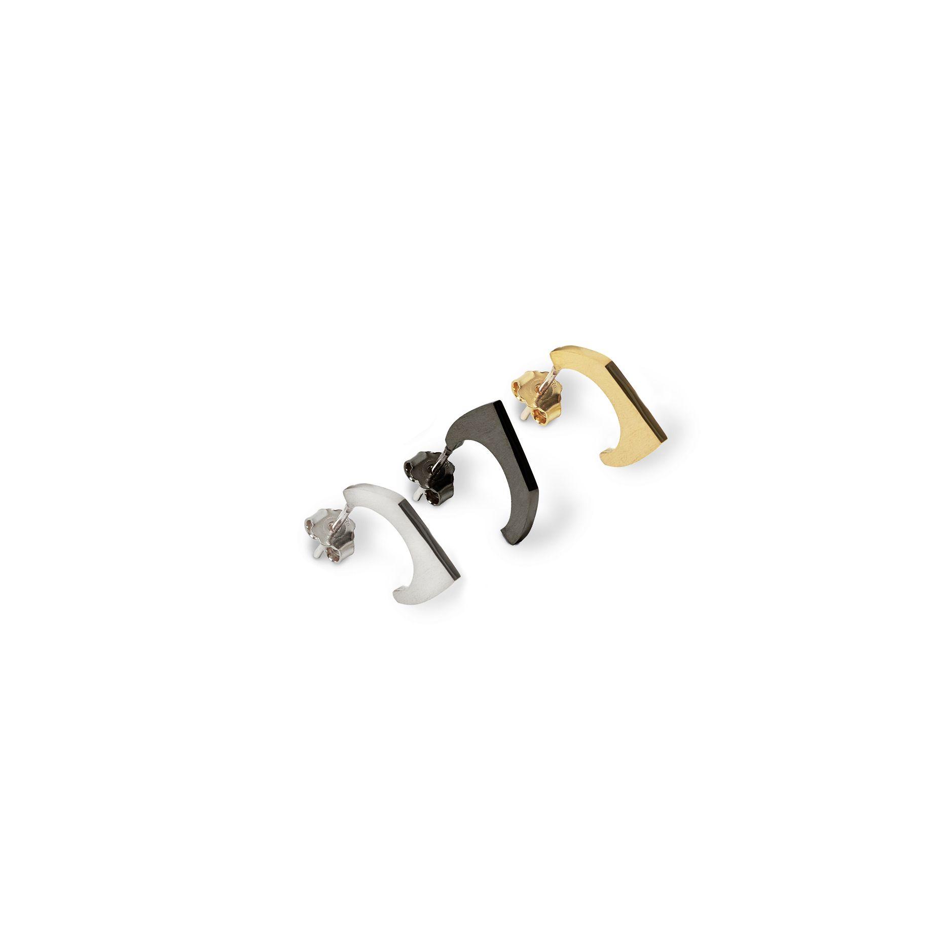 'Congiunzioni' 1 element mix 3 mono earrings to mix