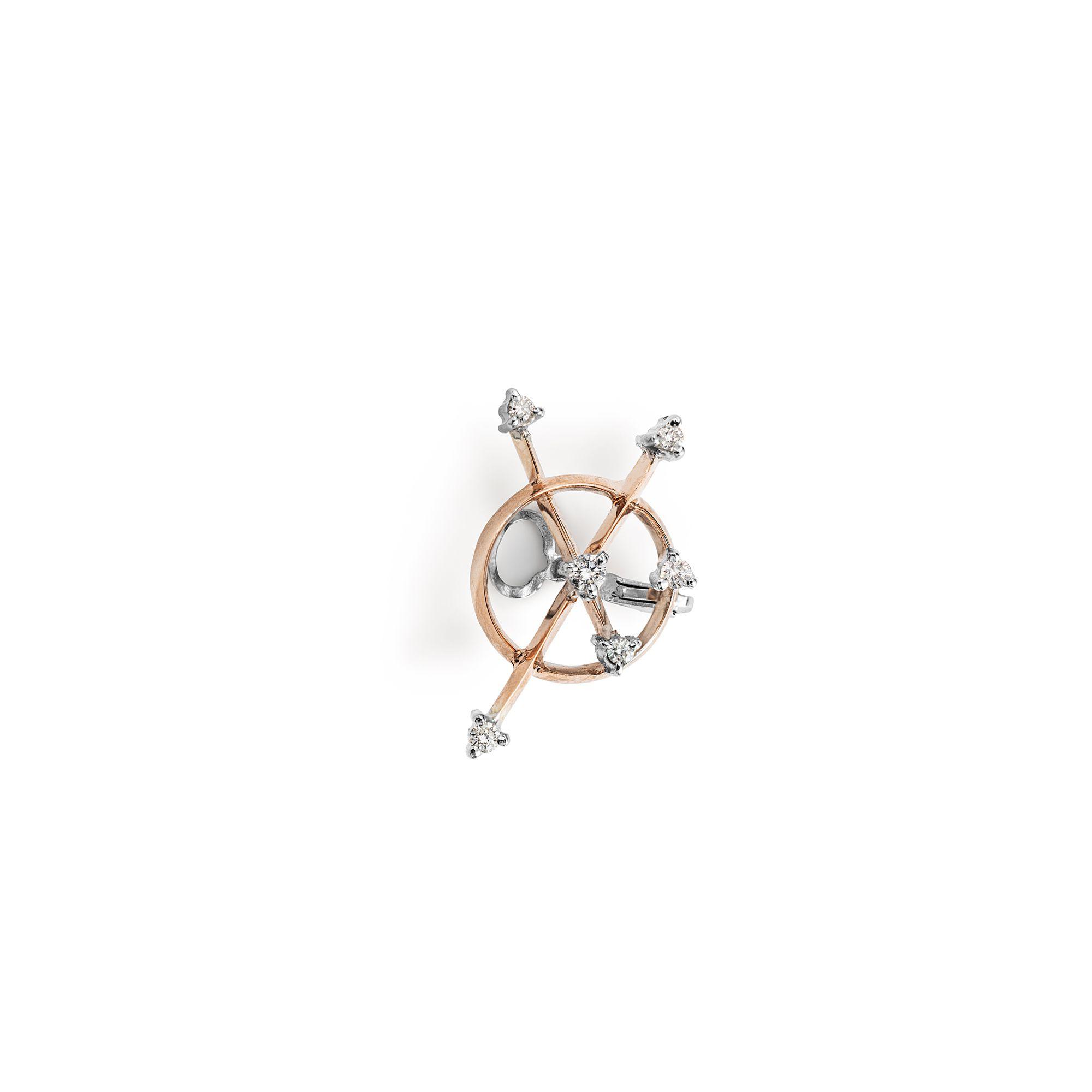 Freccia ear cuff  Mono earring for cartilage