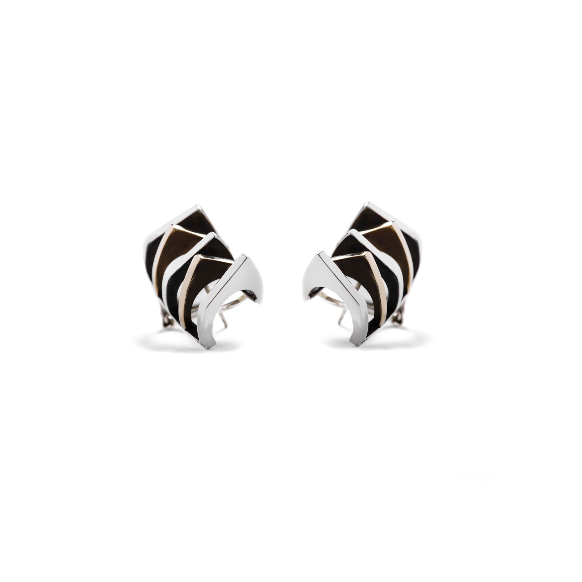 5 element 'Congiunzioni' earrings Earrings in silver and bronze